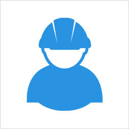 Project Manager with Hard Hat